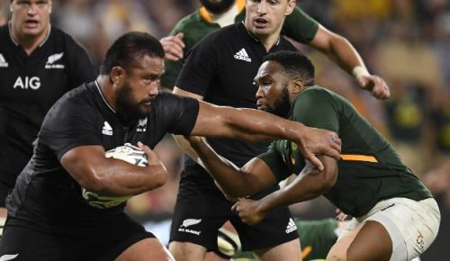 All Blacks vs Springboks: Big boppers eye improvements in South African rematch
