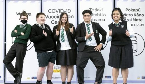Taita College among first in the country to vaccinate on school grounds
