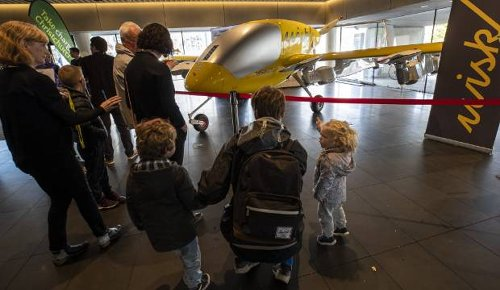 Electric self-flying taxi on display, as Christchurch shows off future of air travel