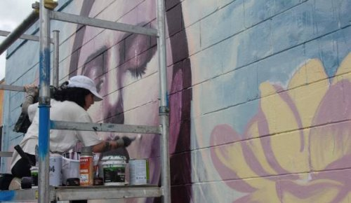 Covid-19: Graffiato festival means people can still watch paint dry for fun in Taupō, despite level 2 event cancellations