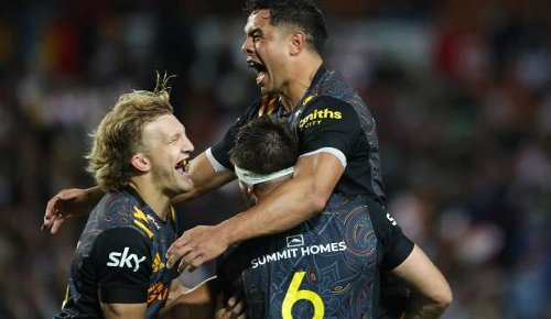 Super Rugby: 'That's why he gets paid the big bucks, eh' - Chiefs cherish their humble hero