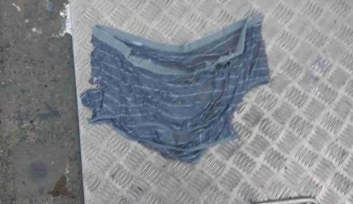 Knickers in costly twist as mystery clothing flusher strikes