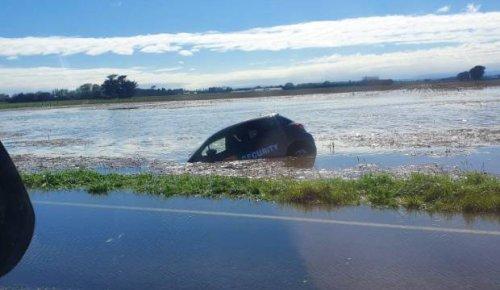 Heavy rain causes disruptions in wider Manawatū
