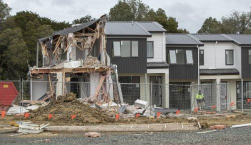 Mystery digger vandal: Emergency stop button prevented more houses being destroyed in Auckland's Flat Bush