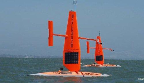 Drones roam oceans for climate data