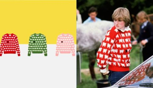 The brand behind Princess Diana's iconic knit relaunches the sheep sweater