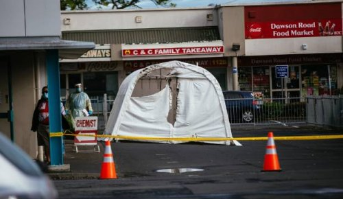 'Suspicious' fire outside south Auckland medical centre damages Covid-19 testing tents
