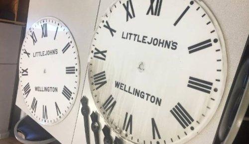 Old clock destined for display in Invercargill CBD redevelopment block