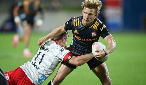 Super Rugby: Damian McKenzie kicks Chiefs to thrilling win over Crusaders