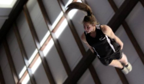 Trampolinist Bronwyn Dibb aiming for gold after nervous MIQ wait