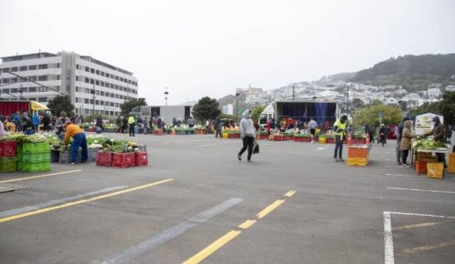Wellington Harbourside Market reopens with no restriction on numbers
