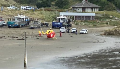 One dead after water incident at Castlepoint, in Wairarapa