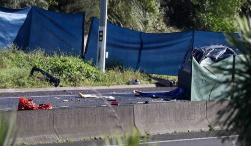 Police seek witnesses to double fatal crash on Auckland's southern motorway