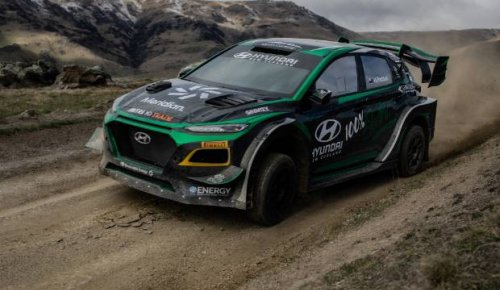 World first for Hayden Paddon: EV rally car to debut on gravel