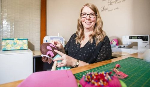 Invercargill woman makes 'cuddle-friendly' dolls that share same traits as the children they are made for