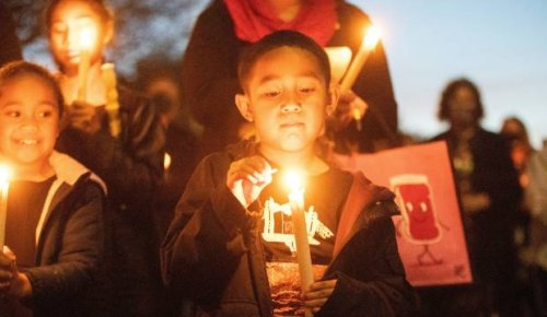 Timaru candlelight vigil in pictures