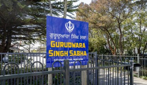 Religious volunteer injured during attack at gates of Sikh temple