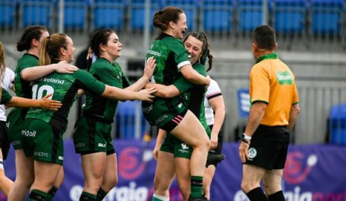 Top Irish women's rugby team appalled at having to 'get changed beside the dump'