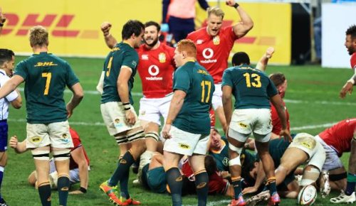 Springboks v British and Irish Lions: Warren Gatland's Lions win first test in Cape Town