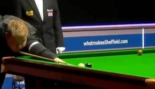 'Can't believe everyone's saying it was a fluke': Pro snooker player Louis Heathcote pulls off trick shot