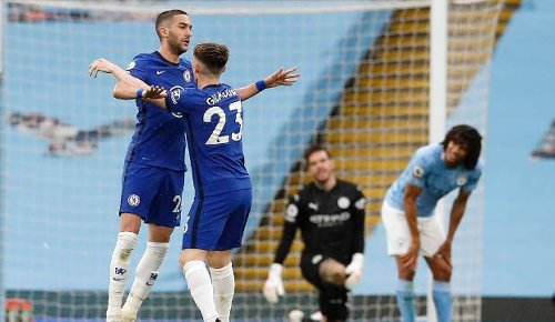 EPL: Manchester City title celebrations remain on hold after loss to Chelsea