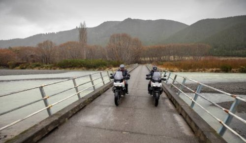 Harley-Davidson calls off Marlborough promo shoot hours before bridge wiped out