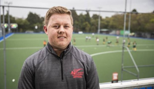 Youngster showing leadership on and off the hockey turf