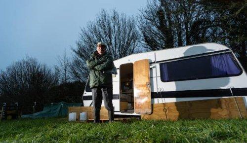 Couple in 70s living in caravan caught in Taranaki council construction guideline 'saga'