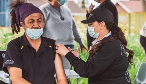 Iwi's 'yaks and vax' mobile clinic proves a great success