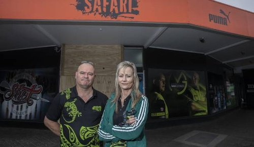Hamilton business Sports Safari fed up with ram raids