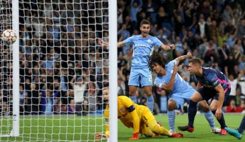 Manchester City star's dad died moments after watching his son score in Champions League
