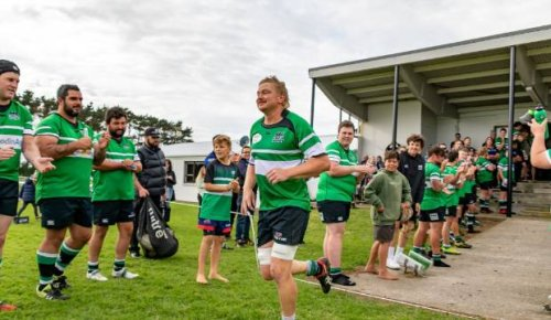Blake Barrett made Coastal centurion - a feat his brothers never managed