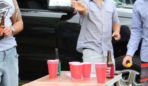 Bar's licence at risk after patrons found playing beer pong on pool table