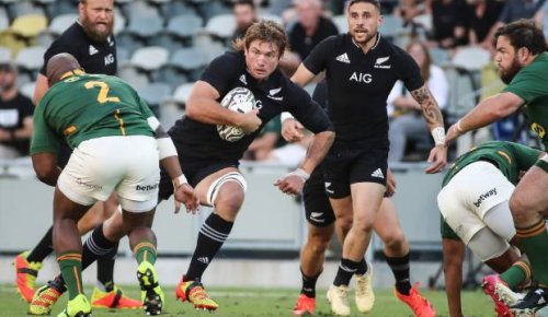 All Blacks: Springboks' ridiculed game plan 'in DNA' says coach after defeat