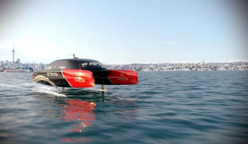 America's Cup: Team NZ developing hydrogen powered foiling chase boats