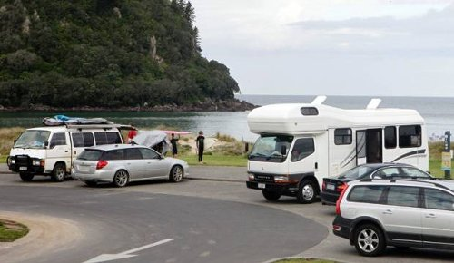 Coastal residents flare up over freedom camping in Thames-Coromandel