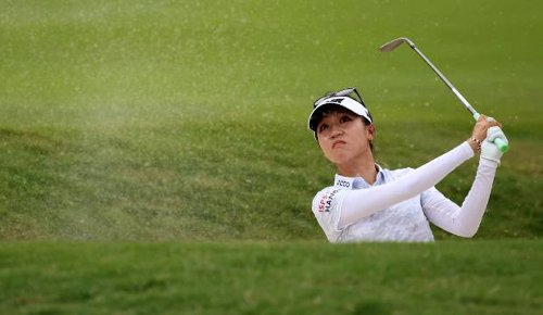 Lydia Ko fights hard to stay in mix at PGA Championship