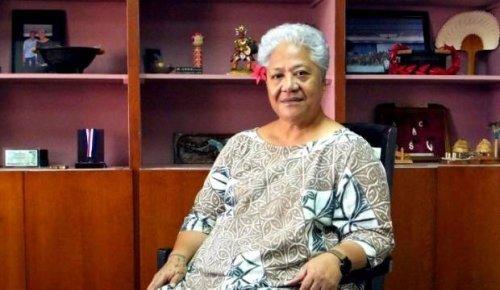 Jacinda Ardern congratulates new Samoan Prime Minister Fiame Naomi Mata'afa