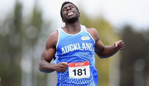 New Zealand record and Australian title elude Edward Osei-Nketia in 100m final
