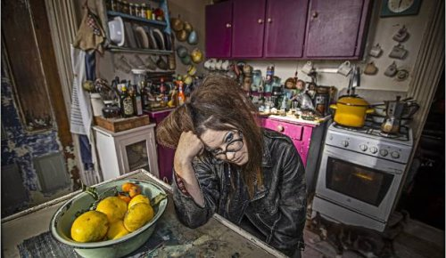 Vintage store owner's Ponsonby rental filled with Japanese antiques and American biker jackets