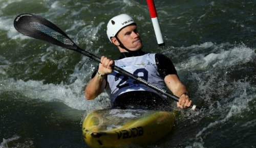 Paddler Finn Butcher takes silver at World Championship in new Olympic event