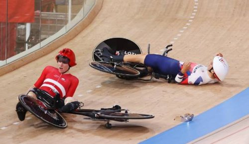 Tokyo Olympics: Denmark appear to crash out of men's pursuit but declared finalists