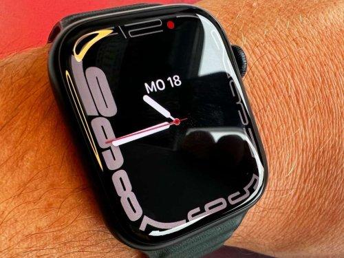 Alte Technik, neues Display: Das kann die Apple Watch Series 7