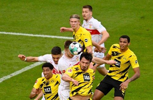 VfB Stuttgart gegen Borussia Dortmund: VfB muss sich mit 2:3 geschlagen geben