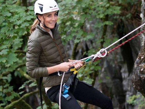 Mountainbike und Klettertour: Sportskanone: Herzogin Kate zeigt sich in Aktion