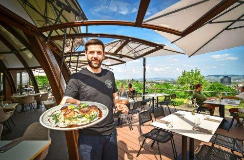 Restauranttest in Stuttgart: Im Bellevue ist allein die Location schon ein Genuss