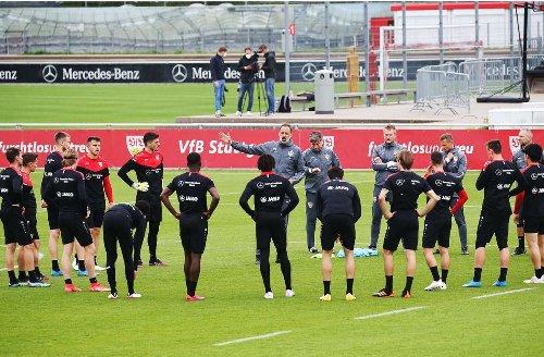 VfB Stuttgart: So läuft das Quarantäne-Trainingslager