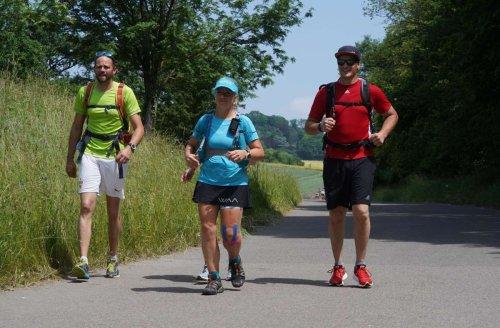 250-Kilometer-Lauf mit Hitze: Extremsportlerin Steffi Saul erreicht ihr Ziel Stuttgart