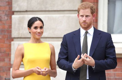 """Herzogin Meghan und Prinz Harry: Sie sind auf dem Titel des """"Time""""-Magazins"""
