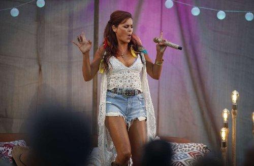 Heimspiel in Großaspach: 2000 Konzertbesucher feiern mit Andrea Berg